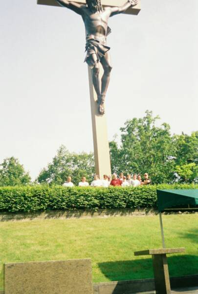 The World's Largest Crucifix